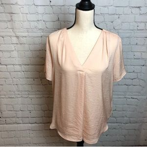 H&M Pleat Front Blouse
